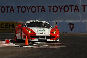 ALMS Qualifying report Alex Job Racing to start Long Beach on fifth row in GT