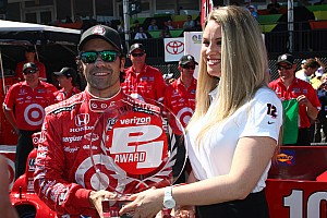 IndyCar Qualifying report Franchitti claims P1 award at Long Beach