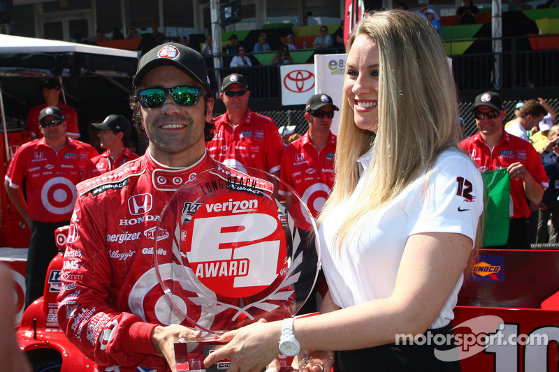 Franchitti claims P1 award at Long Beach