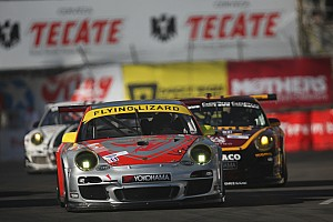 ALMS Race report Flying Lizard achieves double podium iat Long Beach