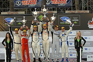 ALMS Race report Prototype Challenge podium for Duncan Ende in Long Beach
