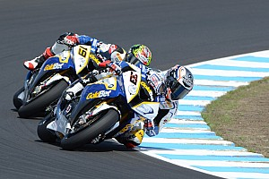 World Superbike Qualifying report GoldBet SBK Team ended the Friday qualifying at Assen on the provisional second row