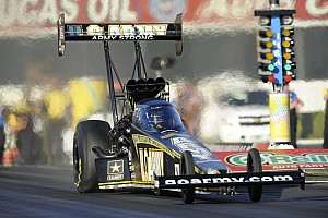 NHRA Race report Schumacher and Brown out early at Baytown's Royal Purple Raceway