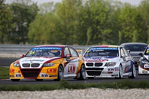 WTCC Race report O'Young landed independent podium after qualifying crash in Slovakia