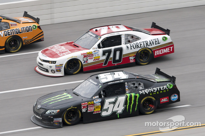 Joey Coulter gets 21st place finish at Talladega