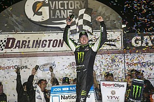 NASCAR XFINITY Race report Kyle Busch continues JGR's dominance at Darlington