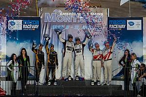 ALMS Race report Hard fought win at Laguna Seca for Pickett Racing