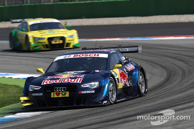 Home round for Audi newcomer Jamie Green