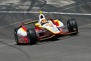 IndyCar Practice report Another busy day for Helio Castroneves and Team Penske at Indy 500