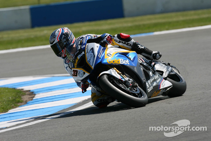 BMW Motorrad celebrated its 7th podium of the season at Donington Park