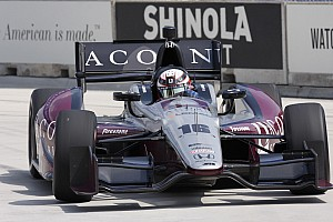 IndyCar Qualifying report RLLR's Jakes bettered his career best start for duel 2 in Detroit