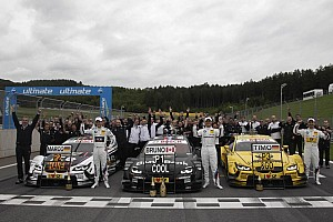 DTM Race report BMW scores a 1-2-3 at Spielberg