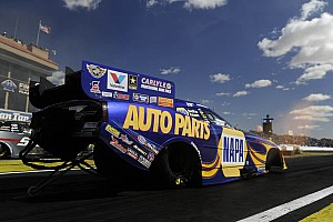 NHRA Race report Capps and Tobler find silver lining in the first round of Summernationals