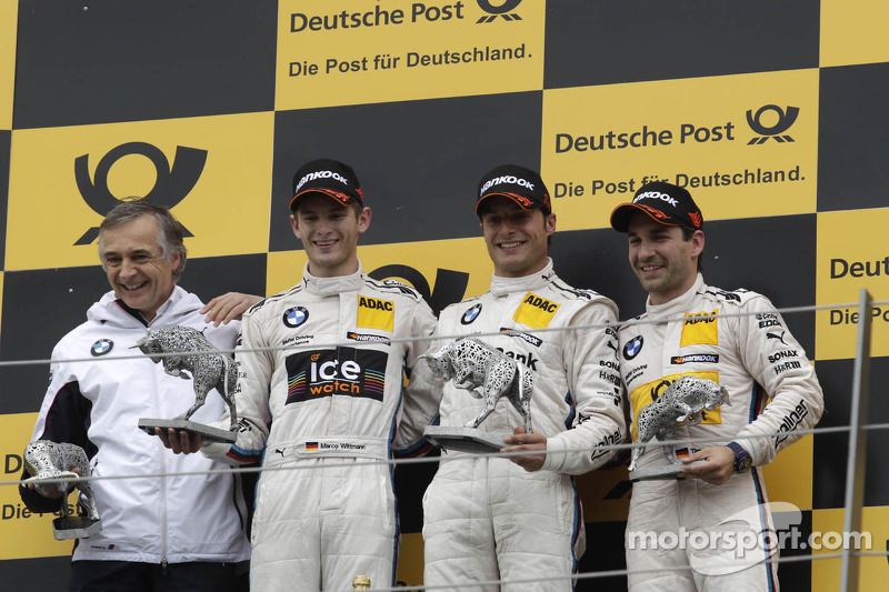 One podium, two team-mates: an interview with Marco Wittmann and Timo Glock of BMW Team MTEK