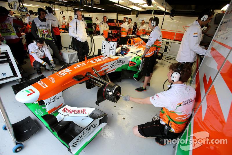 Force India scuffle followed di Resta's criticism