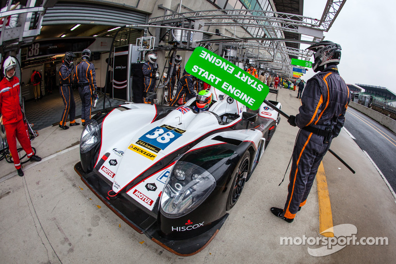 Jota Sport feeling confident following successful Le Mans Test Day