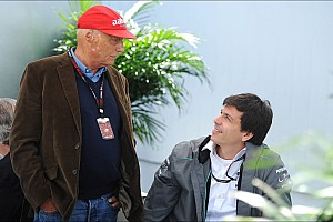Formula 1 Breaking news Lauda didn't know about secret tyre test - report