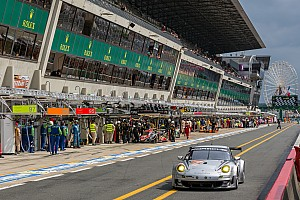 Le Mans Breaking news Dempsey Del Piero Racing among class leaders at the halfway mark