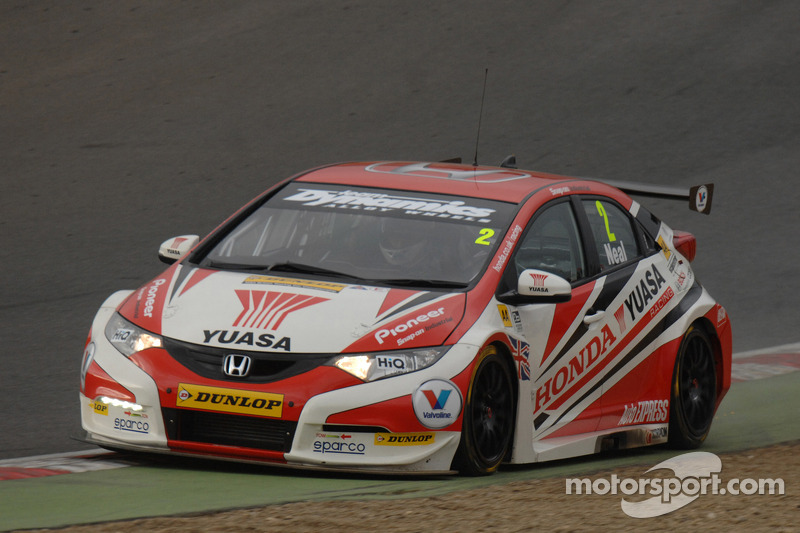 Neal extends points lead with victory in Race 3 at Croft