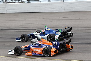IndyCar Race report Kimball finishes 12th at Iowa Speedway