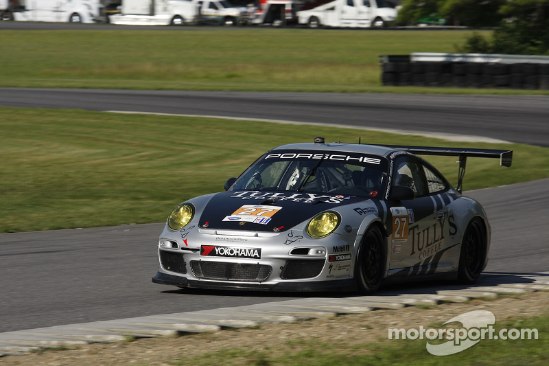 Andy Lally qualifies fourth at Lime Rock