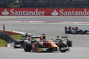 GP2 Race report Leimer and Racing Engineering on the podium today in the Nurburgring Sprint Race