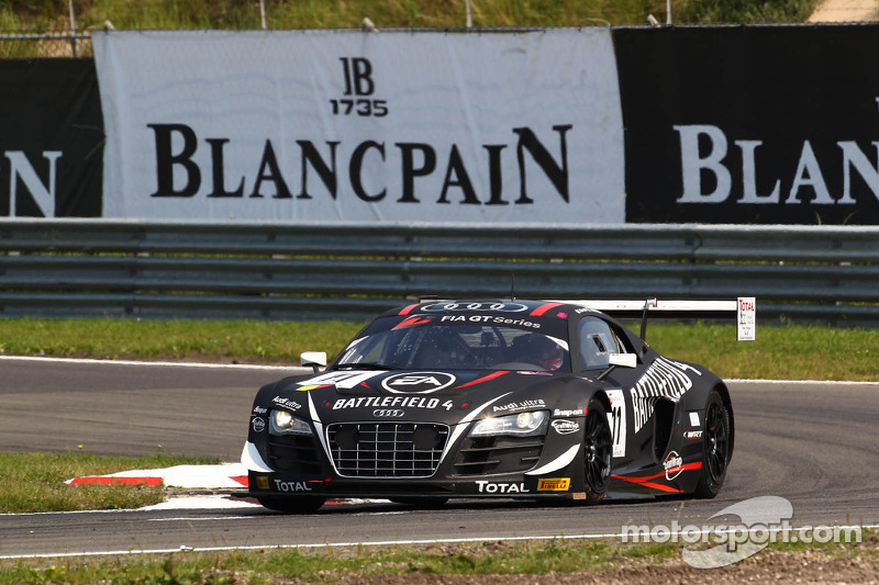 Laurens Vanthoor wins in Zandvoort and leads the 2013 FIA GT Series