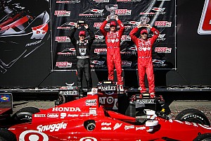 IndyCar Race report Dixon claims win at Toronto's Race 1