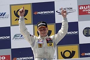 F3 Europe Race report Felix Rosenqvist keeps cool to win again in Nuremberg