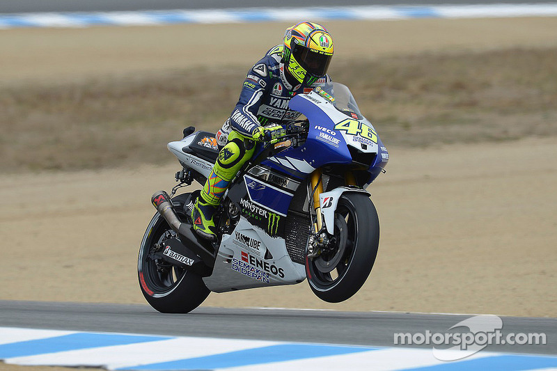 Rossi and Lorenzo score second row for Laguna Seca