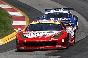 ALMS Race report Keen and Bell 7th in Team West/AJR Ferrari at Mosport
