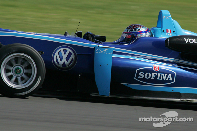 Latifi claims his first pole at Spa
