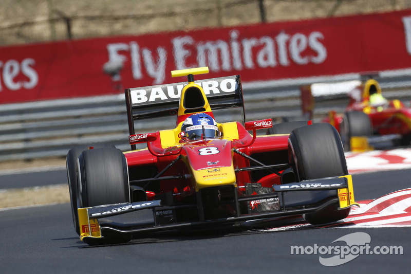 Fabio Leimer and Racing Engineering qualify 3rd at the Hungaroring