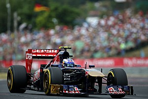 Formula 1 Qualifying report Fifth consecutive Q3 result for Toro Rosso at Hungaroring