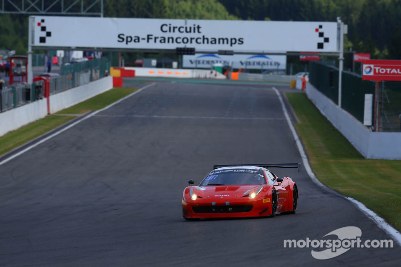 Cameron, Griffin, Vilander and Mortimer on top in Pro Am at 24 Hours of Spa