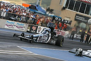 NHRA Qualifying report Langdon, Beckman and Edwards earn No. 1 qualifying slots for Northwest Nationals