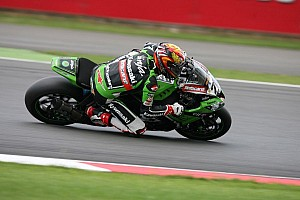 World Superbike Race report Baz wins epic second race at Silverstone in the rain