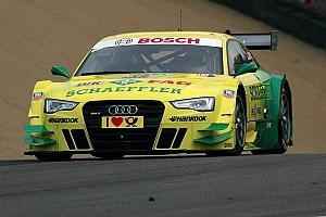 DTM Preview Audi driver Rockenfeller at Nürburgring as series leader
