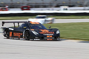 Grand-Am Qualifying report Jordan Taylor puts No. 10 Corvette DP on the front row at Road America