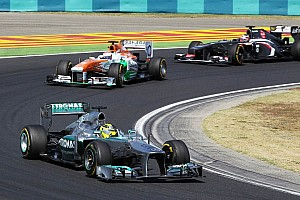 Formula 1 Breaking news Decision to stop developing 2013 car 'difficult' - Rosberg