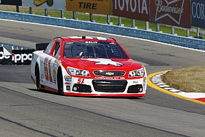 NASCAR Cup Qualifying report Kelly qualifies best of non regulars in Sprint Cup debut at Watkins Glen