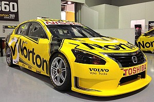 Supercars Testing report Michael Krumm and Lucas Ordonez impress in maiden Nissan V8 Supercars test