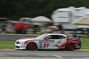 Grand-Am Preview Stevenson Motorsports before race at Kansas Speedway