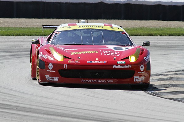Tagliani gives No. 61 R.Ferri/AIM Motorsport Racing Kansas Speedway pole in team debut