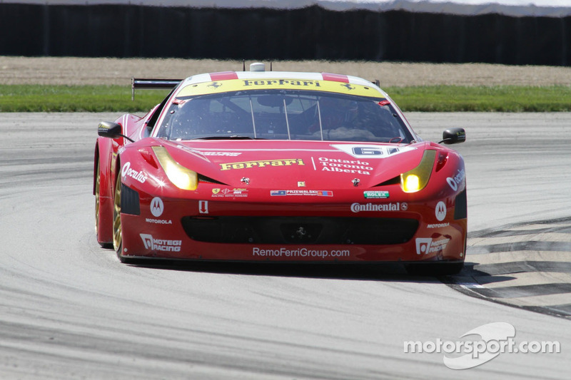 Tagliani gives No. 61 R.Ferri/AIM Motorsport Racing Kansas Speedway pole in team debut