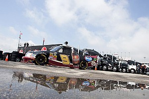 NASCAR Truck Race report Hornaday finishes 11th at Michigan International Speedway