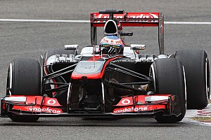 Formula 1 Qualifying report McLaren's Button satisfied with qualifying results at Spa