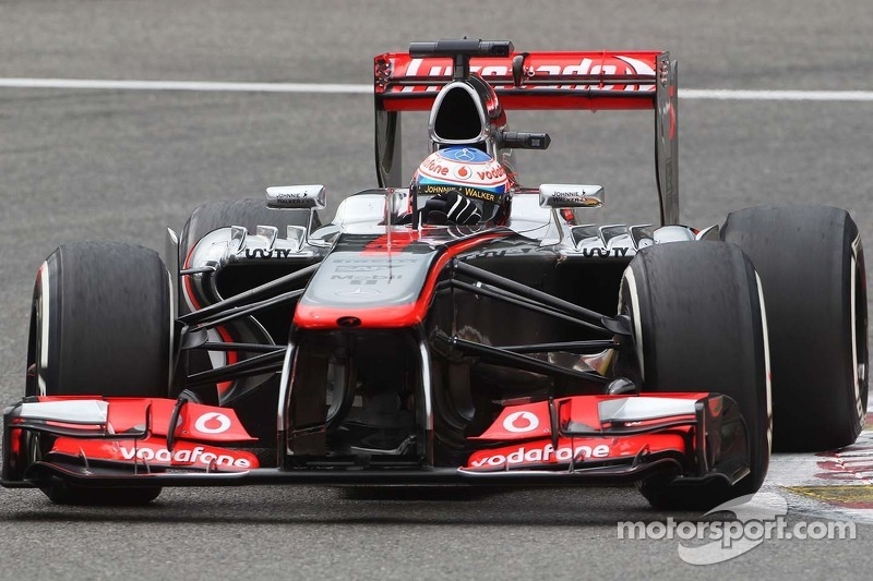 McLaren's Button satisfied with qualifying results at Spa