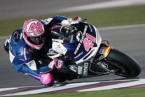 MotoGP Breaking news CRT rider Espargaro injured in Saturday afternoon practice crash at Silverstone