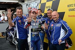 MotoGP Race report Lorenzo shines with stunning Silverstone victory